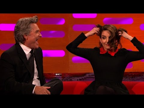 Kurt Russell and Tina Fey recreate a famous Star Wars moment - The Graham Norton Show: Episode 11