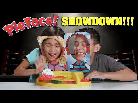PIE FACE SHOWDOWN!!! Whipped Cream CHALLENGE! from YouTube · Duration:  4 minutes 48 seconds