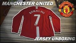 MANCHESTER UNITED 2007-09 RONALDO JERSEY UNBOXING