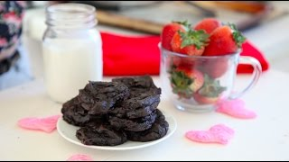 Healthy, Dark Chocolate Avocado Cookies By Waves N Craves Gluten Free No Refined Sugar