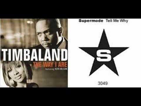 Timbaland vs. Supermode - Tell Me Why I Are (carpola mash up
