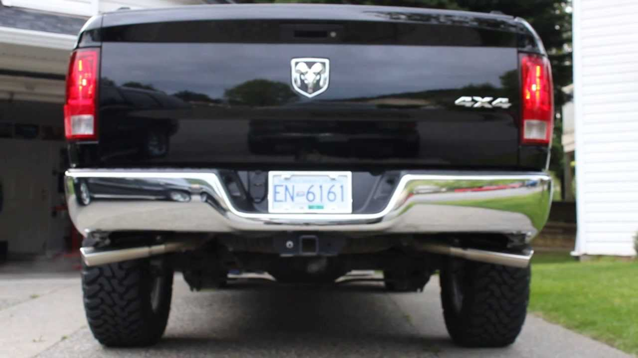 2012 Dodge Ram 4 7 Flowmaster American Thunder Exhaust