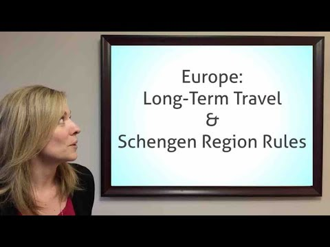Europe: Long-Term Travel & Schengen Rules