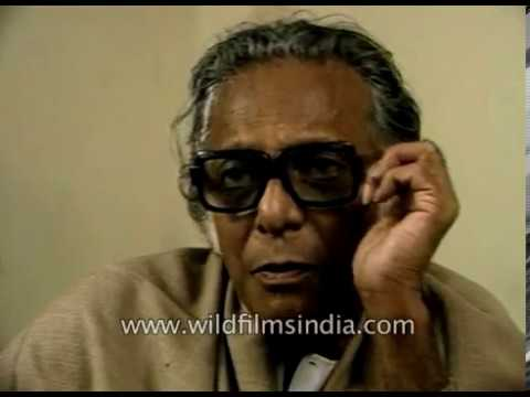 Mrinal Sen on Mrinal Sen and Indian Cinema: famous Indian filmmaker