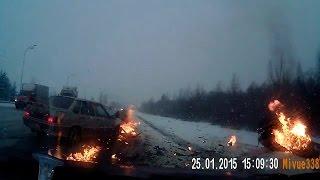 Подборка ДТП и ЧП из ru_chp.lj.ru №38, январь 2015