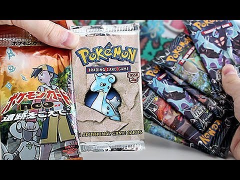 Vintage Old School Pokemon Card Opening!