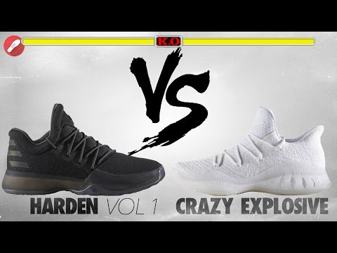 Adidas Harden Vol. 1 vs Crazy Explosive Low Primeknit!
