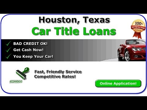 Видео Loans in houston tx