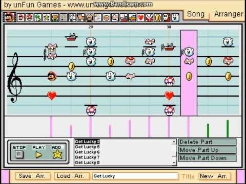 Get Lucky - Mario Paint Composer - Daft Punk