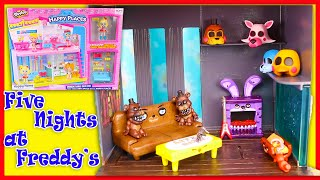 Five Nights at Freddy's DIY Custom House - How to Make a miniature FNAF Dollhouse Diorama