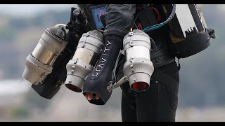 Flying like Iron Man: Up Close with Richard Browning's Gravity Jet Suit!