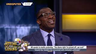 Shannon Sharpe Discusses Antonio Brown's Attitude Problem #Undisputed #FS1