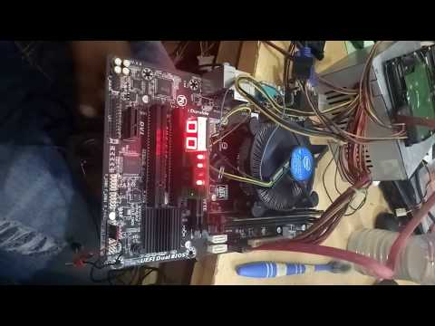 How to repair GA-H81M-S2PV Motherboard | fix reset problem