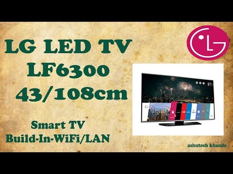 "LG LF6300 LED TV 43"" 108cm 