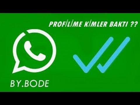 Whatsapp Profilime Bakanları Nasıl Öğrenirim
