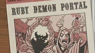 Lets Co Op Cardhunter 4 - Ruby Demon Portal
