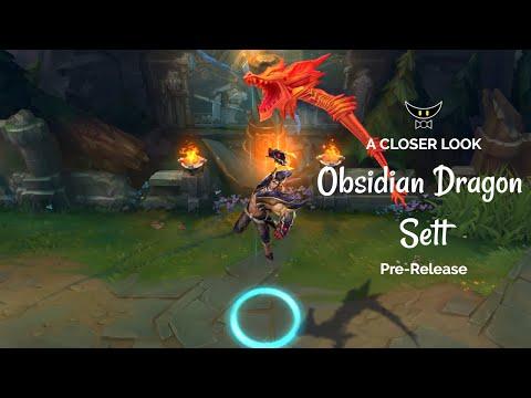 Obsidian Dragon Sett Epic Skin (Pre-Release)