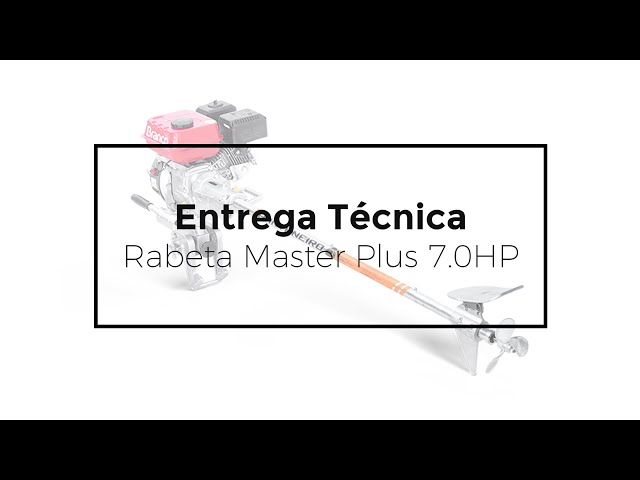 153 - ENTREGA TÉCNICA // RABETA MASTER PLUS 7.0HP PANTANEIRO