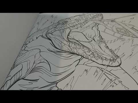 Parents And Collectors Guide To Jurassic World Fallen Kingdom Adult Coloring  Book - YouTube
