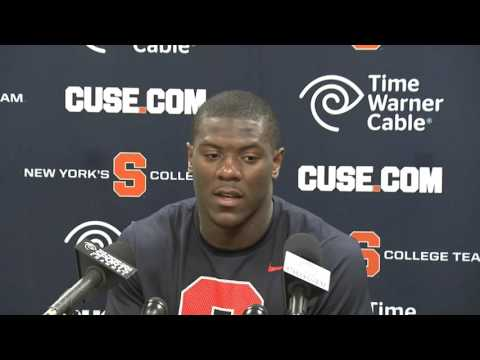 Zaire Franklin & Eric Dungey FSU Post Game