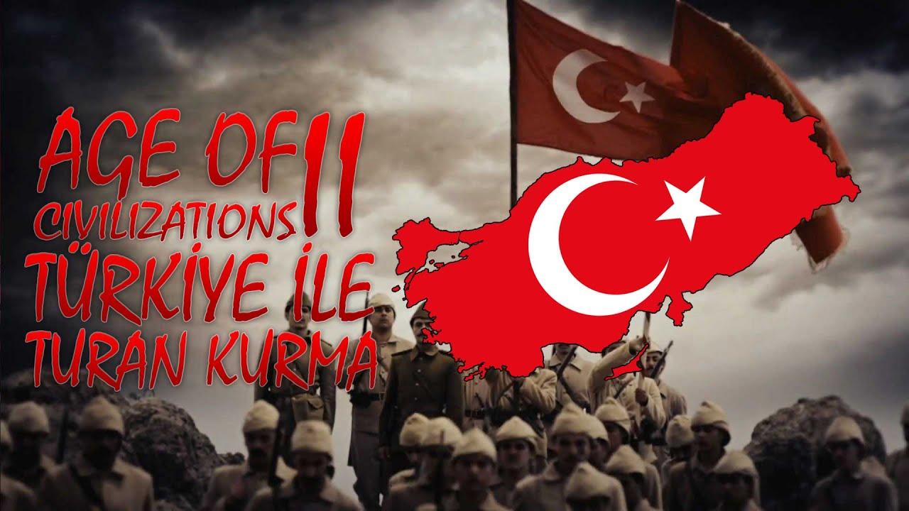 YENİ SERİ! - TÜRKİYE İLE TURAN KURMA - AGE OF CIVILIZATIONS II - BÖLÜM 1