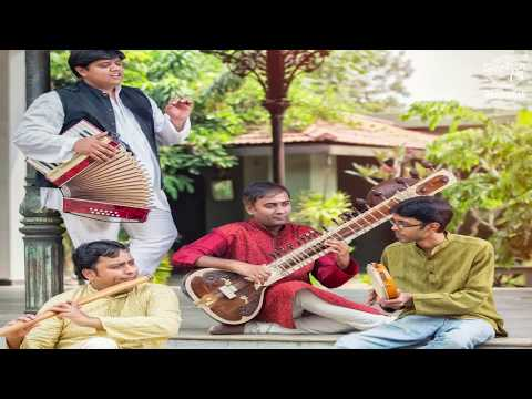 Ateetam - Freedom Flight - Sitar, Tabla. Flute and Keyboard - Indian Classical Music