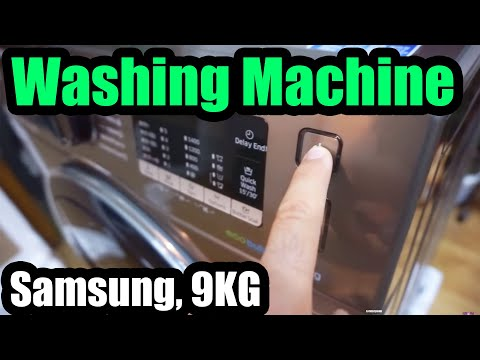 Samsung Washing Machine (AddWash, Eco Bubble, 9KG, WW90K5410UX)