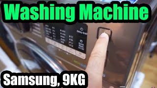 Samsung Washing Machine (AddWash Eco Bubble 9KG WW90K5410UX)
