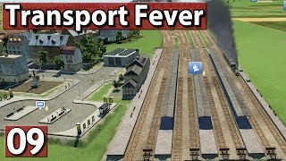 VIELSPURIGER AUSBAU Transport Fever Gameplay deutsch #9