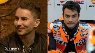 Why the King of Spain forced Jorge Lorenzo and Dani Pedrosa to shake hands | MotoGP Season Wrap
