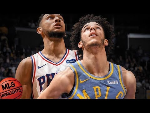 Lonzo Ball Lowlights vs Sixers / Week 5 / Lakers vs Sixers
