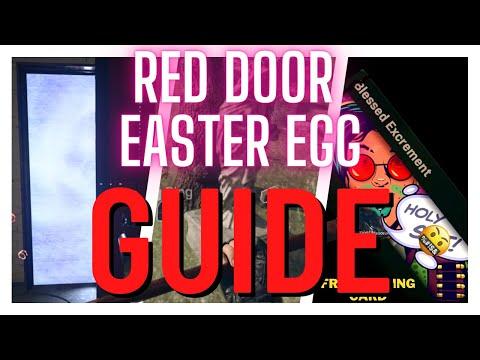 NEW Warzone RED DOOR EASTER EGG Guide - Season 5 Reloaded