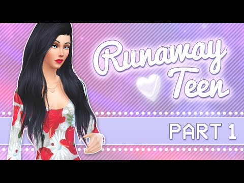 let's-play-the-sims-4:-runaway-teen-challenge-|-part-1---so-homeless