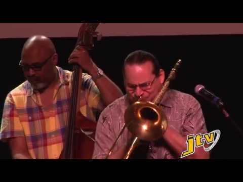 Dion Parson Quartet & Steve Turre at HLSCC Student Outreach - 20 March, 2015