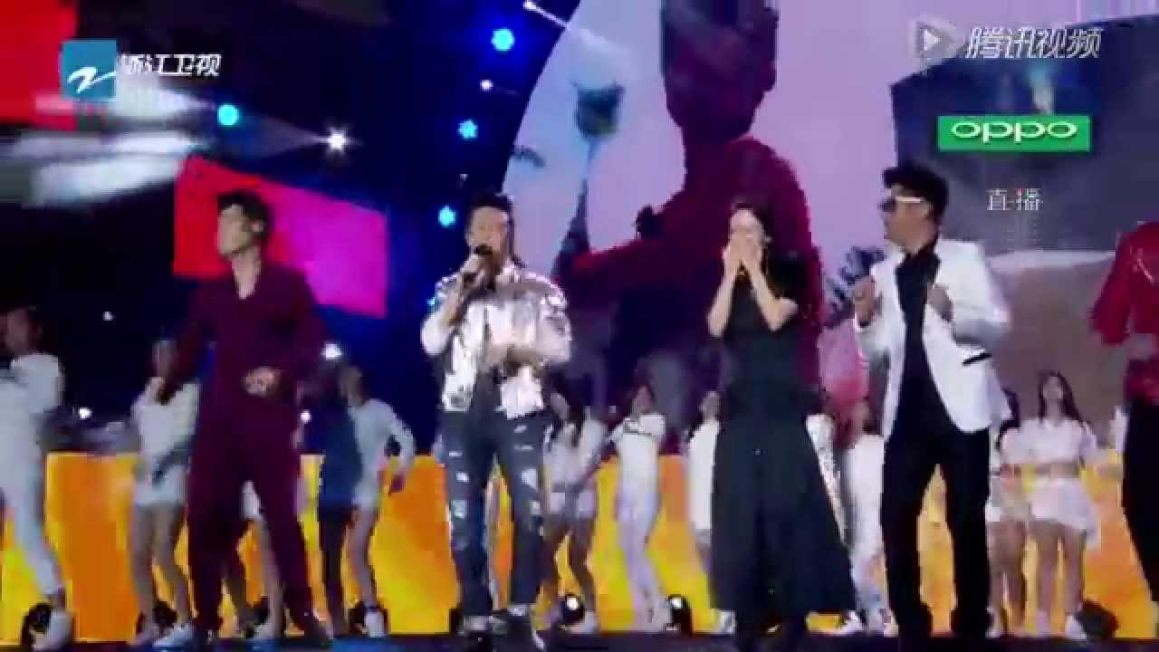 Siêu Anh Hùng - Đặng Siêu ft Running Man China (Live Happy New Year 2015)