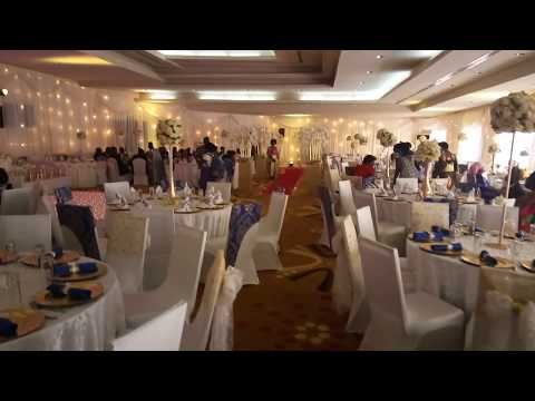 Uganda Wedding Decoration Setup Video by Jamelia Decorations -PART 1