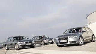 Audi, BMW, Mercedes - Großer Kombi, kleiner Diesel