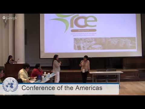 2015 RCE Conference of the Americas - Afternoon Session @ KCAD