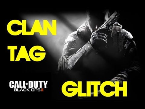 Black Ops 2: Yellow Clan Tag Glitch! (Not The
