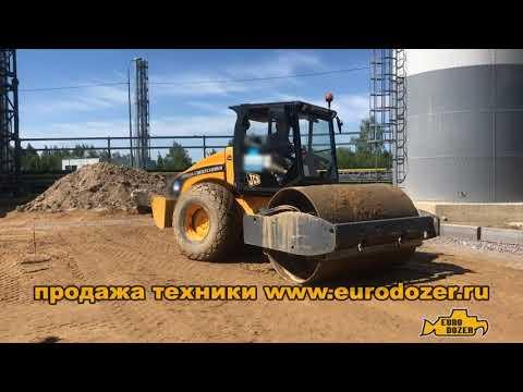 Vibromax 115 грунтовый каток JCB вес 11 тонн аналог Bomag, Hamm и Ammann