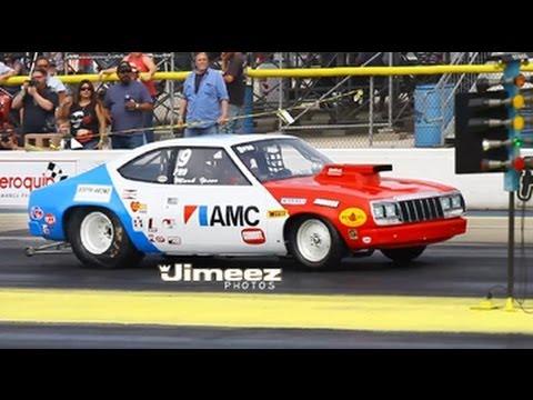 NOSTALGIA PRO STOCK MARK IPSEN'S  '79 AMC CONCORD AT BYRON