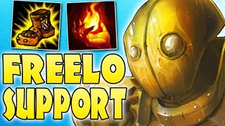 MY BEST FREELO CHAMP - BLITZCRANK SUPPORT - Season 7 League of Legends