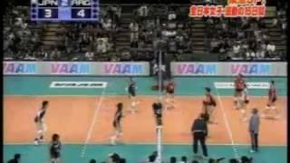全日本女子バレー セッター竹下佳江 (japan volley setter takeshita yoshie)