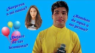 Sebastián Villalobos confesó cuál fue la última broma-sorpresa que le hizo a su novia