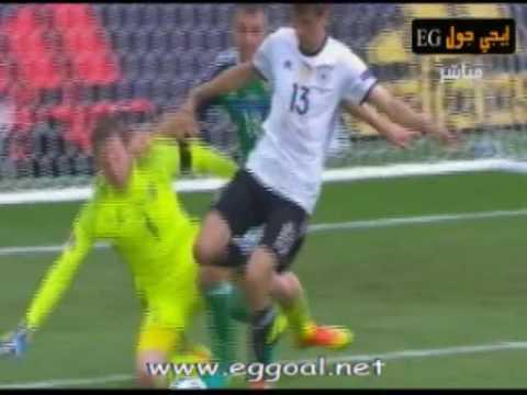 اهداف مباراة ألمانيا وإيرلندا الشمالية |  germ vs ierlan