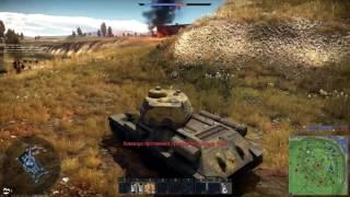 War Thunder -  Просто   удачный бой. Приколы.