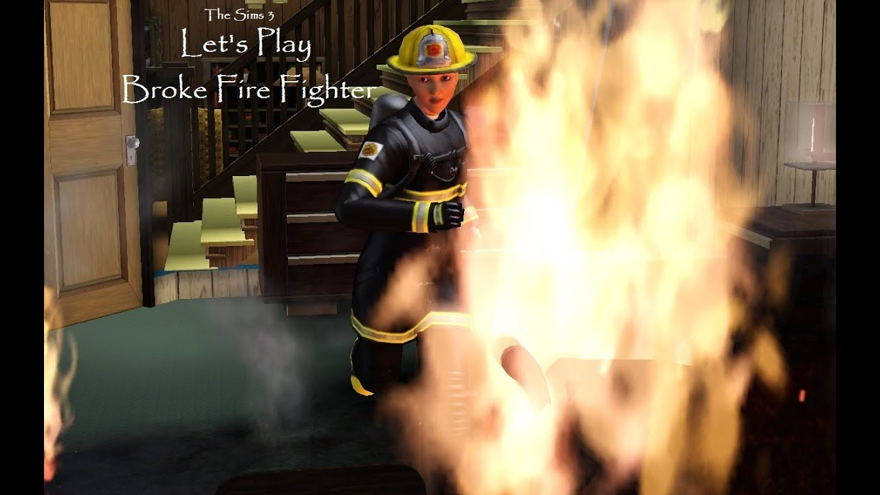 how to become a firefighter in sims 3