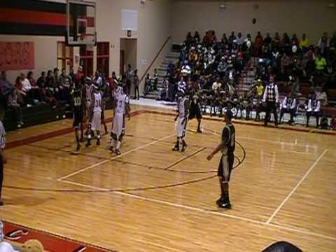 Armani Moore in Swainsboro vs. ECI Basketball