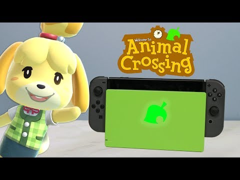 Custom Animal Crossing Nintendo Switch Dock Led Mod Youtube