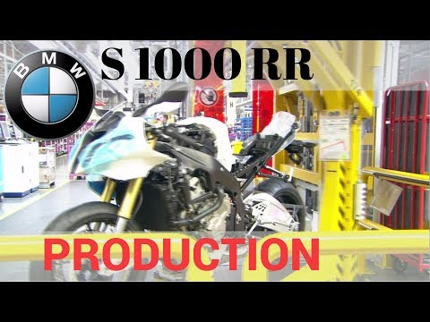 BMW S 1000 RR - Production from design to testing a finished motorcycle